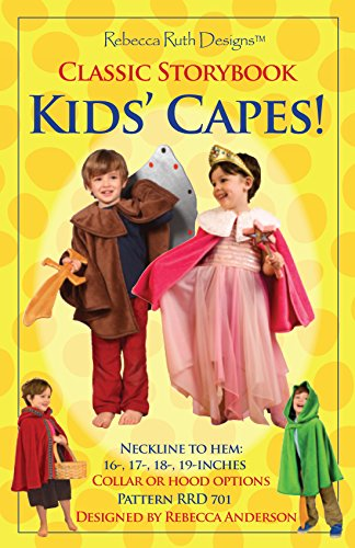 Kids' Capes Sewing Pattern ()