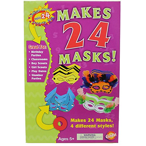 - Creativity Street CK-5486 Colossal Crafts Mask Kit, Assorted (Pack of 24)