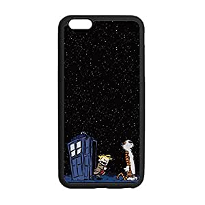 Great Calvin and Hobbes Anti-Skid Slim & Lightweight TPU Case Shell Cover for iPhone 6 Plus 5.5