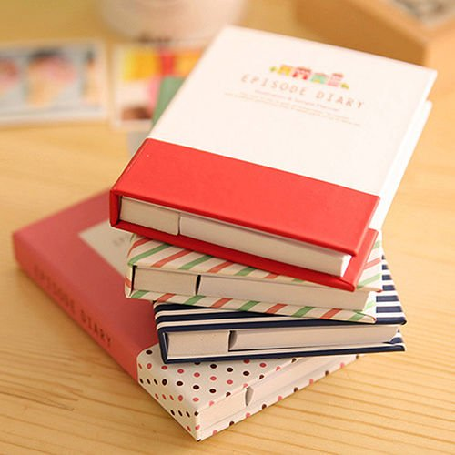 Sticky Notes Notebook Memo Pad Bookmark Paper Sticker Notepad Stationery Fashion (Fashion Stationery)