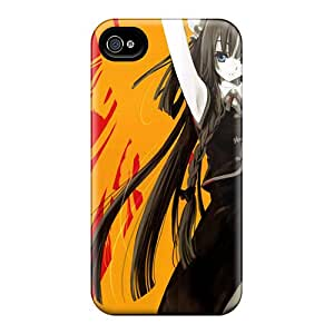 New Style KarenJohnston Anime Girl 174 Premium Tpu Cover Case For Iphone 4/4s