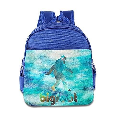 Bigfoot Galaxy Student Backpack School Bag Print Backpack For School Shoulder Daypack Handbag (Bigfoot Products)