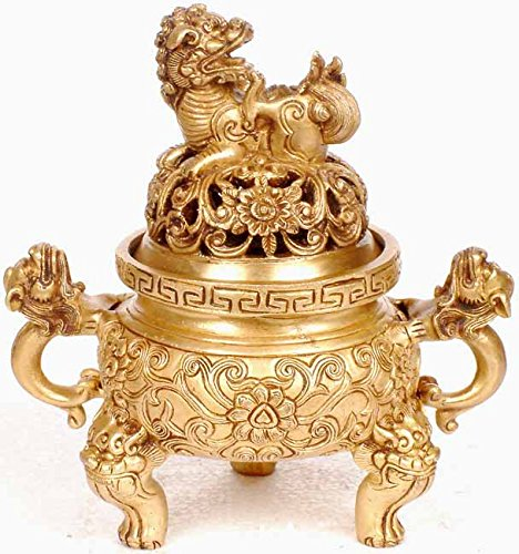 Incense-Burner-Brass-Statue