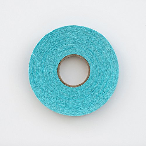Chenille It Original Blooming Bias, Bahama Blue. 25-40 Yard Roll Bias Tape. Simple Chenille Tape Quilting Embellishment- Sew, Wash, Dry & it Blooms. Bias Ribbon Turns a Quilt into Something Special (Bias Sew Binding)