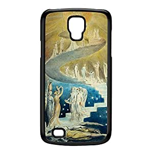 Jacobs Ladder by William Blake Black Hard Plastic Case for Galaxy S4 Active by Painting Masterpieces + FREE Crystal Clear Screen Protector