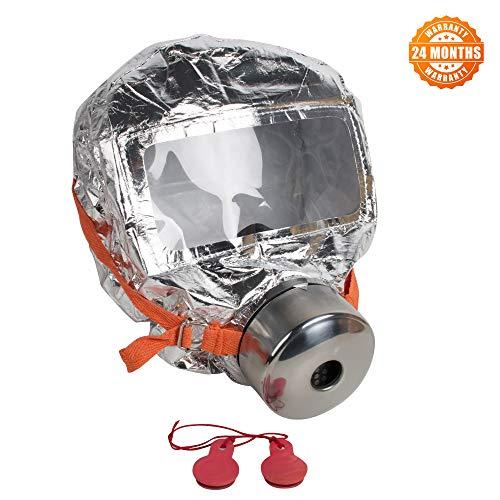 (zinnor Fire Escape Mask Fire Respirator Gas Mask Emergency Escape Respirator Mask, 30 Minutes)