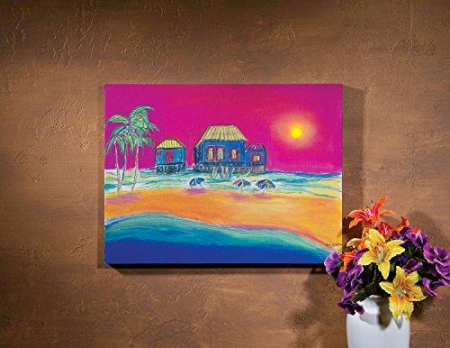 Ohio Wholesale Sunshine Beach Lighted Canvas 15 x 20