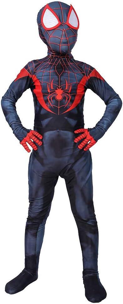 WEGCJU Traje De Spiderman Niño Traje De Superhéroe Disfraces Anime ...