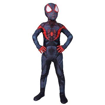 WEGCJU Traje De Spiderman Niño Traje De Superhéroe Disfraces ...