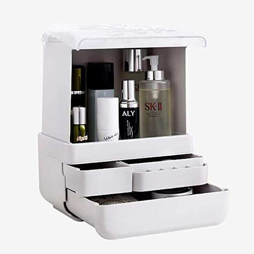 XHCP Organizador de Maquillaje, Joyas, cosméticos, Caja ...
