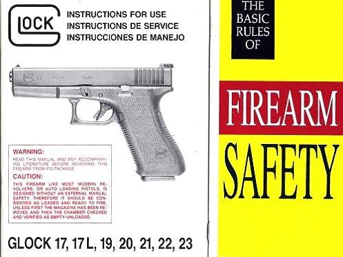 glock instruction manual glock 17 17l 19 20 21 22 23 glock rh amazon com glock 20 owner's manual glock 20 manual pdf