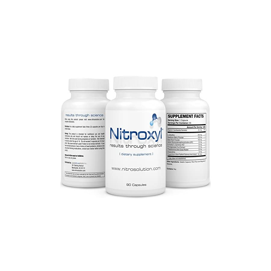 Nitric Oxide Supplement Increase Endurance and Performance Best Workout Nootropics to Improve Memory and Concentration Comprehensive Formula