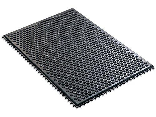 DESCO Statfree i 40930 Black Rubber Conductive Interlocki...