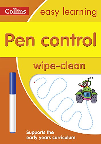 Pen Control Age 3-5 Wipe Clean Activity Book (Collins Easy Learning...