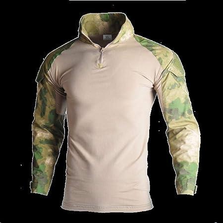 Ropa militar de caza militar, camisa de combate, pantalones de caza, color negro, pantalones de carga Ghillie, ropa de caza, color G-r-s, tamaño 4XL: Amazon.es: Hogar