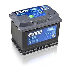 Exide EB620 - Batería de arranque