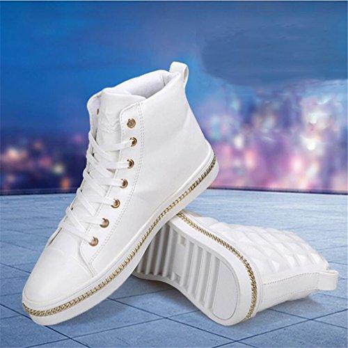 Zapatos Hombres Para Deportivos Modelos Altos BIANJESUS Zapatos Casuales Casuales Tacones Hombres Con Modelos Para De Explosión wqIETtE
