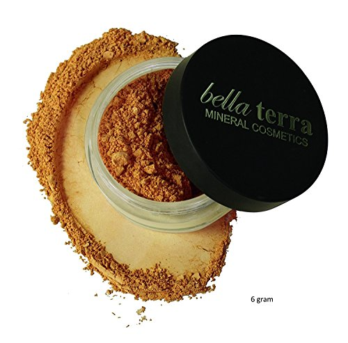Bella Terra - Mineral Foundation - 6 gram - Natural Makeup (CHESTNUT)