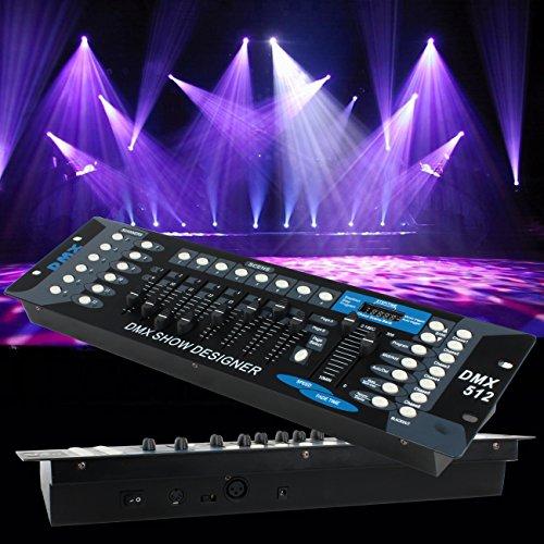 Ridgeyard 192 Channel DMX512 Controller DJ Laser Stage Light Contorller Board for Home Entertainment Stage Lighting