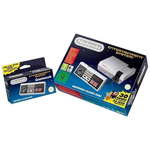 Nintendo NES Classic With Bonus NES Classic Controller