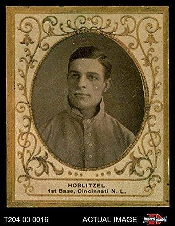 Amazoncom 1909 T204 Ramly Dick Hoblitzell Cincinnati Reds