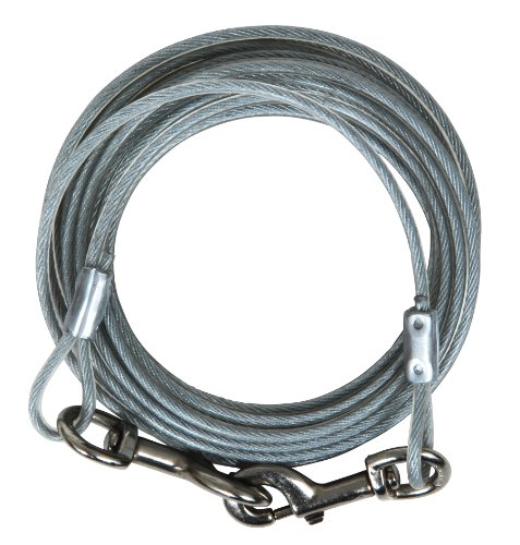 (Petmate 1700-Pound Break Strength Tieout Cable,)