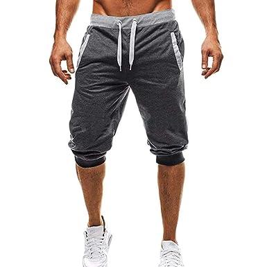 Pantalones De Chándal De Algodón para Hombres De Verano Mode De ...