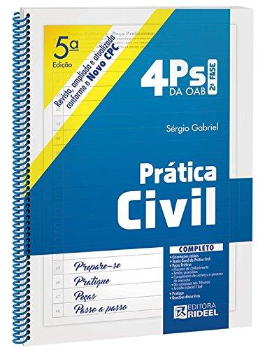 Download Prática Civil. 2ª Fase - Coleção 4 PS da OAB PDF