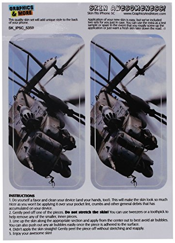Graphics and More Army Military Helicopter Protective Ski...