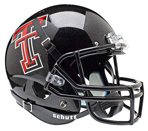 Schutt NCAA Texas Tech Red Raiders Replica XP Football Helmet, Classic