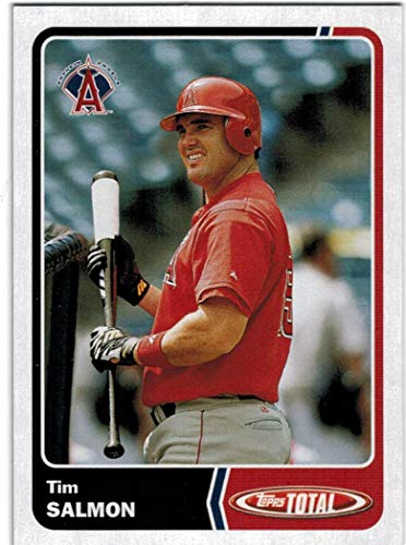 2003 Topps Total Anaheim Angels Team Set with Tim Salmon & Troy Glaus - 27 MLB Cards