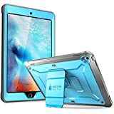 SUPCASE iPad 9.7 Case 2018 / 2017, Heavy Duty [Unicorn Beetle PRO Series] Full-body Rugged Protective Case with Built-in Screen Protector & Dual Layer Design for Apple iPad 9.7 inch 2017 / 2018 (Blue)