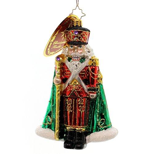 - Christopher Radko Major General Nutcracker Glass Christmas Ornament - 6