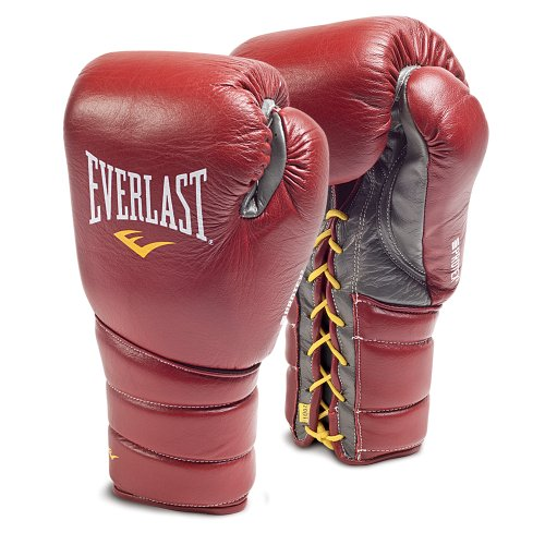 Everlast Protex 3 Pro Fight Gloves - Red 8oz