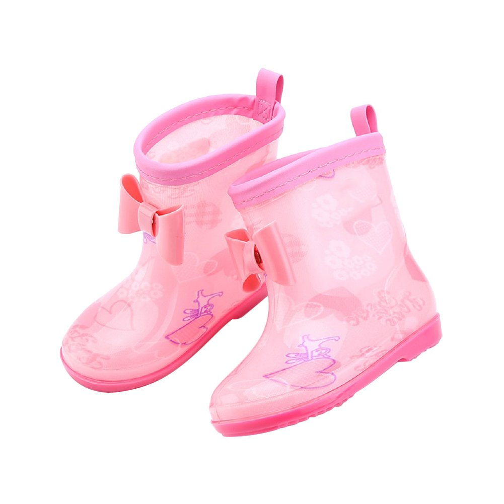 Amazon.com: Samber Non-slip Rain Shoes Rain Boots Dye Printed Galoshes  Waterproof Boot for Children Child Babies Kids Boys Little Girls(Yellow/M):  Baby