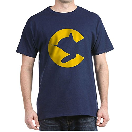 Chessie System - CafePress Chessieyellow T-Shirt 100% Cotton T-Shirt Navy