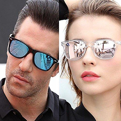 Marron Polarisées de Femmes Carrées Vintage Lunettes Long pour Lunettes Keeper soleil Classic Homme soleil de qv8SpxI6pw