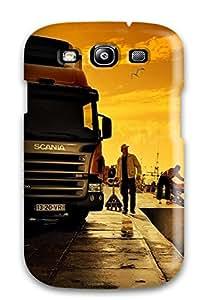 Premium Tpu Truck Cover Skin For Galaxy S3