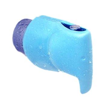 Amazon.com: Baby Bath Spout Cover-Child Safety Blue Elephant Faucet ...