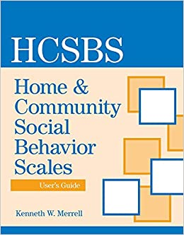 Book Home and Community Social Behavior Scales (HCSBS-2) User's Guide
