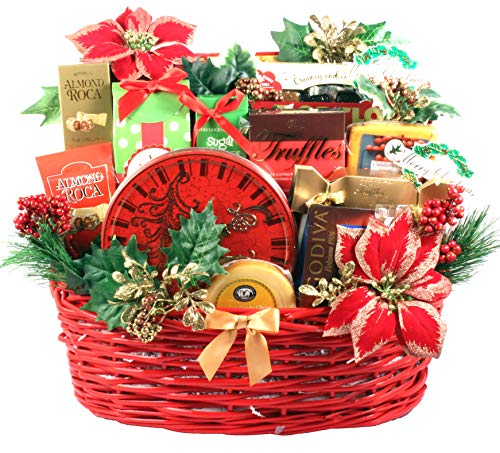 (Gift Basket Village Christmas Party Deluxe Holiday Gift Basket)