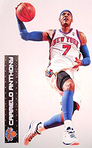 Cheap  FATHEAD Carmelo Anthony Mini New York Knicks Official NBA Vinyl Wall Graphic..