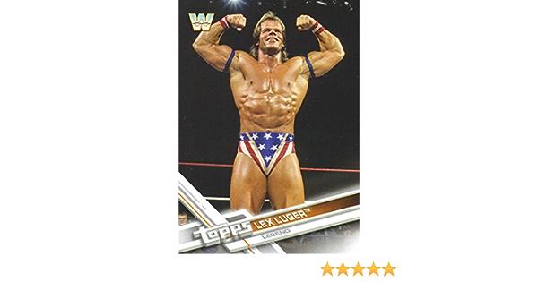 Lex Luger #189 Wwe entonces ahora Forever 2017 tarjeta de Topps