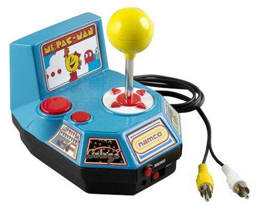 amazon com plug play video games toys games jakks ms pac man tv game