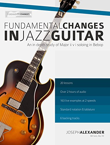 Fundamental Changes Jazz Guitar Soloing ebook product image