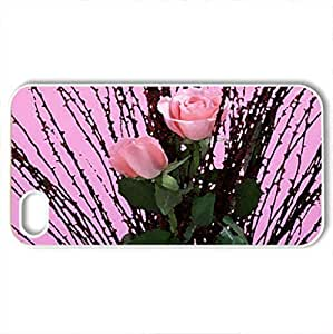New Charming YaYa Super Strong Long Stem Red Roses PC For Iphone 5C Case Cover