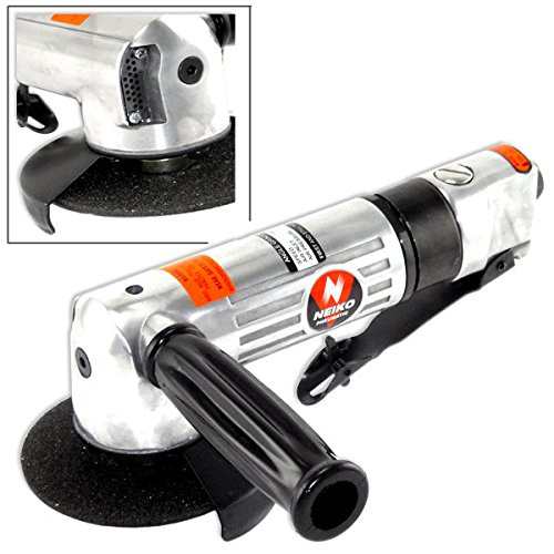 Neiko 30100A 4'' Angle Head Air Powered Grinder with Safety Throttle
