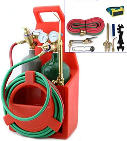 GG) Professional Portable Oxygen Acetylene Oxy Welding Cutting Weld
