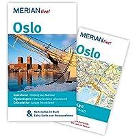 MERIAN live! Reiseführer Oslo: Mit Kartenatlas im Buch und Extra-Karte zum Herausnehmen