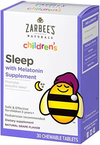 Zarbee's Naturals Children's Sleep with Melatonin Supplement